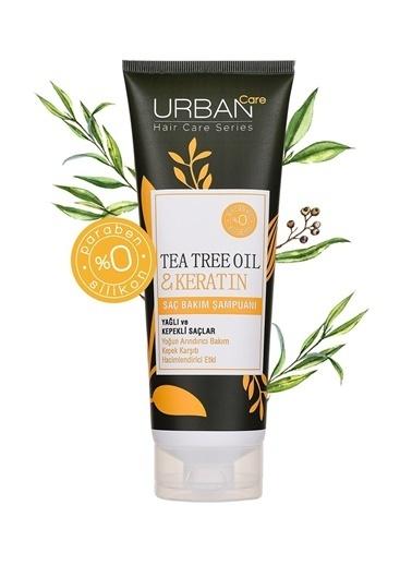 Urban Care Urban Care Tea Tree Oil & Keratin Şampuan Renksiz